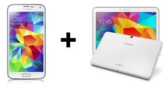 Vodafone Smart XL Junge Leute + Galaxy S5 und Tab 4 10.1 16GB Wifi für 33,99€ monatlich
