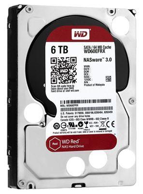 Preisfehler! Western Digital Red 6TB WD60EFRX für 74,79€ (statt 240€)
