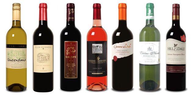 Weinauswahl Weinvorteil Herbst Ausverkauf mit bis zu 50% Rabatt + Gutscheine