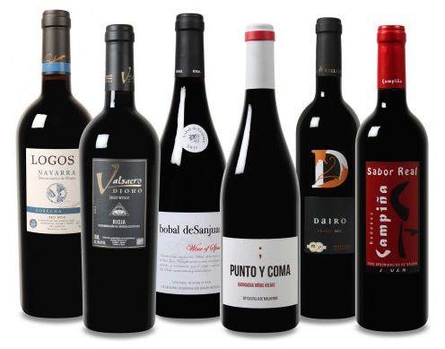 Weinvorteil Probierpaket Robert Parker Weinpaket mit 6 Weinen und bis zu 96 Punkten für nur 31,49€