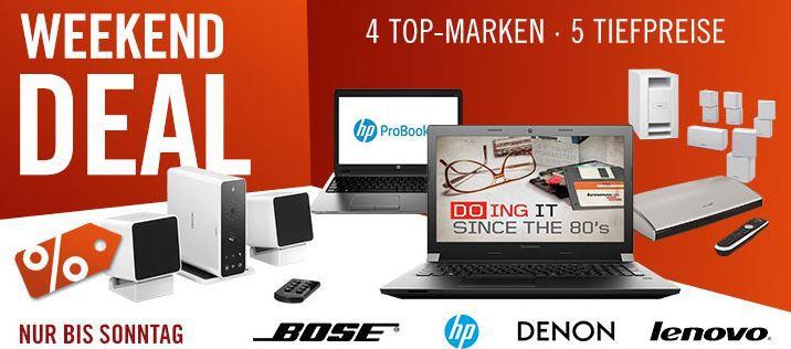 BOSE Lifestyle 520 5.1 Home Entertainment System Serie II   statt 2.029€ für 1.299€ und mehr Cyberport Weekend Deals