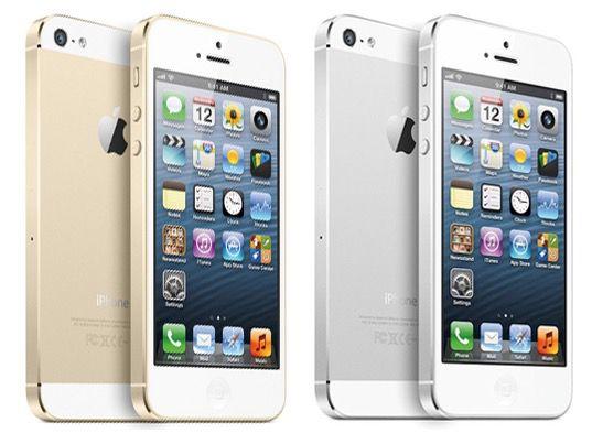 iPhone 5S Apple iPhone 5S 64GB in Gold oder Silber für jeweils 629€
