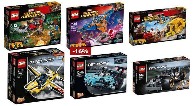 20% Rabatt auf alle LEGO Artikel bei Karstadt