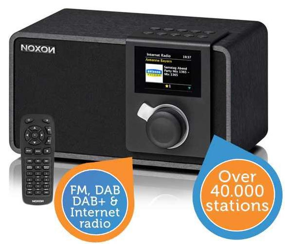 noxon NOXON iRadio 410   DAB+ und Internetradio für 188,90€