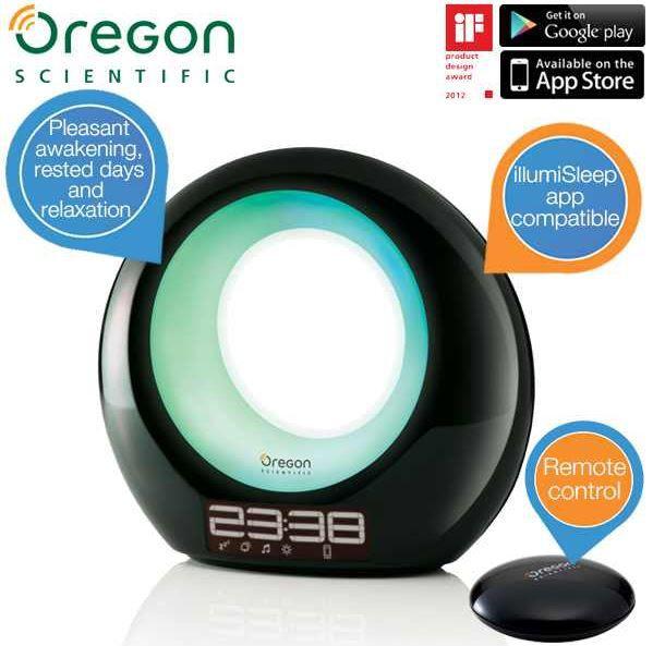 Oregon Scientific WL201 ILLUMI   Ambient Wakeup Light   für ein sanftes und ausgeruhtes Erwachen für 75,90€