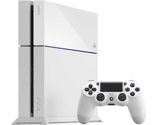 ps4 weiß Sony Playstation 4 + 500GB Festplatte in weiß oder schwarz für je 349€   Update!