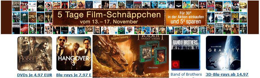 5Tage Box Sets und Komplettboxen zum Sonderpreis bei den neuen 5 Tage Filmschnäppchen   Update