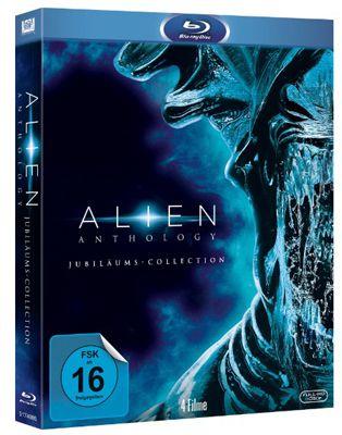 Alien Anthology Blu ray Box Alien Anthology Blu ray Box für 19,99€