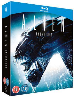 Alien Athology Alien Anthology Blu ray Box für 11,79€ (statt 19€)