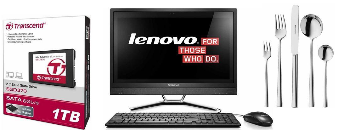 Lenovo C470   21.5 Zoll All In One Desktop PC bei den 24 Amazon Blitzangeboten