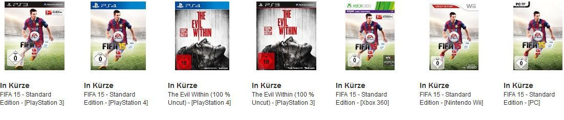 The Evil Within (100 % Uncut)   [Xbox One] für 39,97€ bei den letzten Cyberweek Angeboten heute