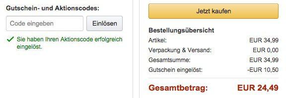 Amazon Gutschein EC Technology Slim Powerbank mit 18.000mAh ab 24,49€