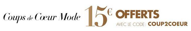 Amazon Mode Gutschein 15€ Rabatt auf das Mode Sortiment bei Amazon Frankreich ohne MBW