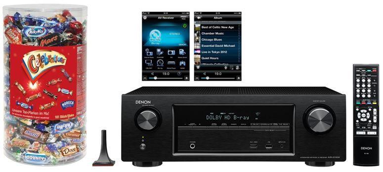 Amazon heute27 Denon AVR X1100W   5.1 AV Surround Receiver statt 416 für 299€