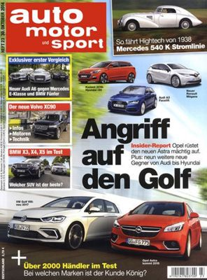 Auto Motor und Sport Halbjahresabo auto, motor und sport für effektiv 1,35€ statt 51,35€