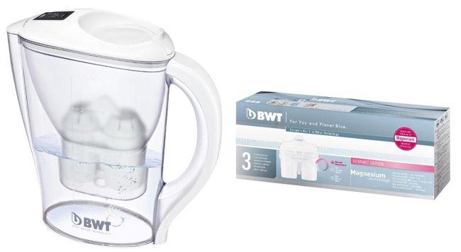 BWT Initium Wasserfilter BWT Initium Wasserfilter 2,5 Liter + 3 Kartuschen für 9,98€