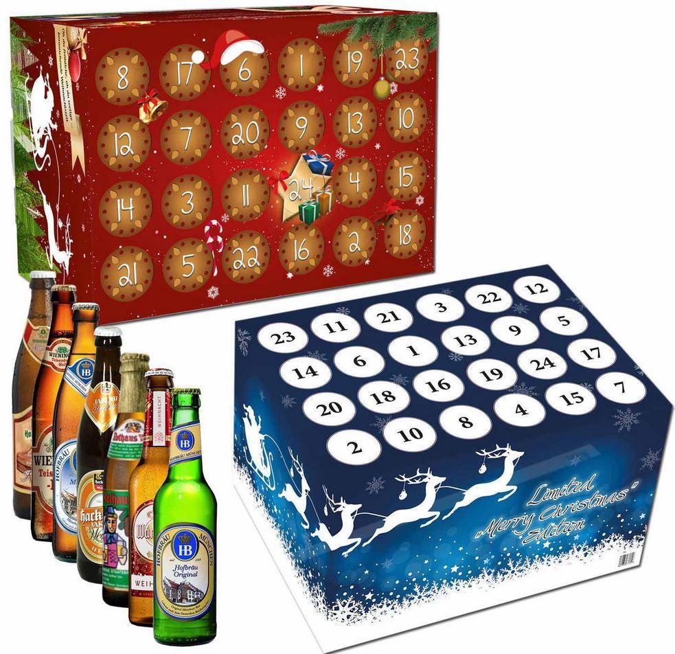 Bier frei Haus Adventskalender: 24 versch. Biere für Damen oder Herren je 29,95€   Update