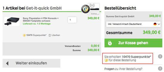 Bildschirmfoto 2014 11 04 um 08.35.46 Kracher! Bis zu 30 fache Superpunkte bei Rakuten   heute wieder da   Update!