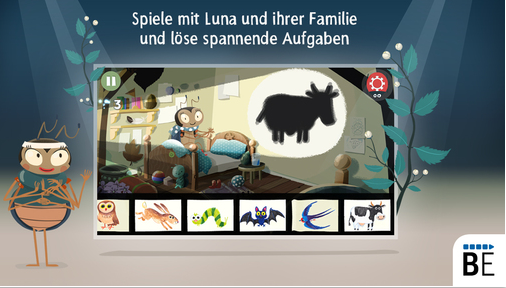 Neue Kinder App: Luna das Supertalentier (iPhone, iPad)