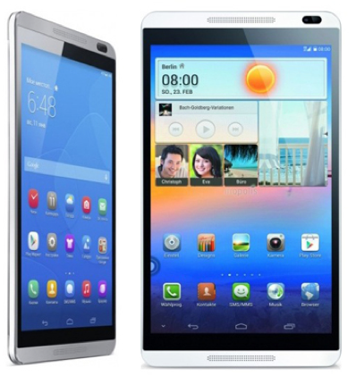 Huawei MediaPad M1 8.0 (8GB, LTE + WLAN, Android) für 99,95€ (B WARE)