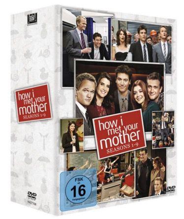 How I met your Mother Staffel 1 9 (DVD) für 70€ (statt 89€)