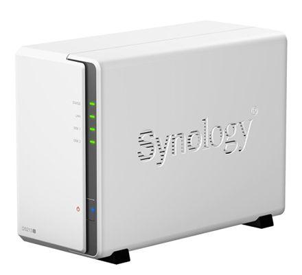 Synology DS213J   2 Bay NAS Server für 129€ (statt 177€)