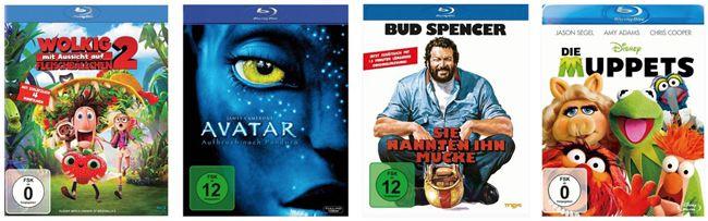 Kauf 3, zahl 2   Blu ray Aktion mit über 150 Filme bei Buecher.de