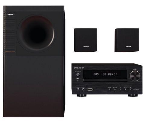 Bose Acoustimass 3 Stereo Lautsprecher + Pioneer X HM51 K AV Receiver für 399€