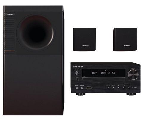 Bose Acoustimass 3 Bose Acoustimass 3 Stereo Lautsprecher + Pioneer X HM51 K AV Receiver für 399€