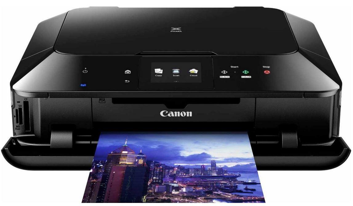 Canon PIXMA MG7150   Multifunktionsdrucker, Kopierer, Scanner, USB, WLAN für ~ 124€