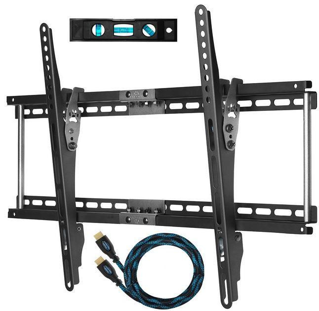 Cheetah Mounts APTMM2B   TV Wandhalterung bis 75Kg + HDMI Kabel ab 11,69€
