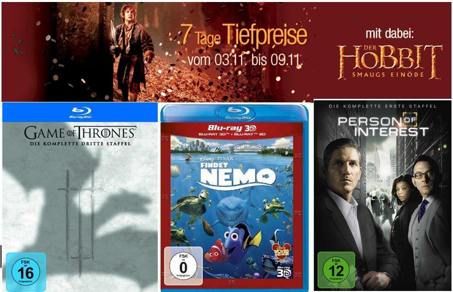 DVD Blu rays  Fantasy Blockbuster und mehr Angebote bei der Amazon 7 Tages Aktion   Update