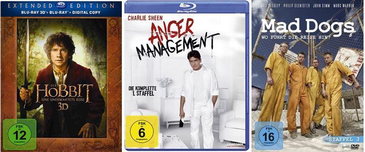 DVD Blu rays1 Anger Management ab 9,97€ und mehr bei den Amazon DVD und Blu ray Angeboten der Woche