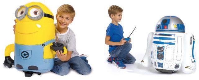 Aufblasbare RC Spielzeuge für 27,94€   z.B. Minion, R2D2 und mehr