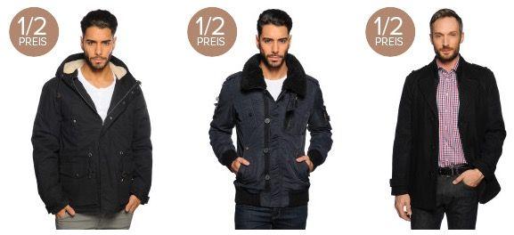 Nur heute: Alle Jacken und Mäntel zum halben Preis bei Dress for less