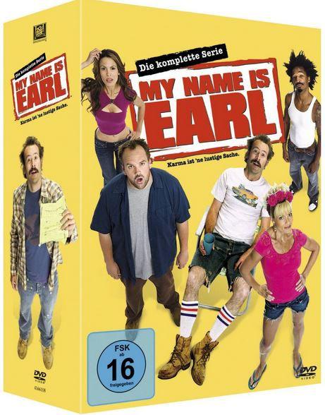 Earl My Name is Earl   komplette Serie auf 16 DVD für 29,97€