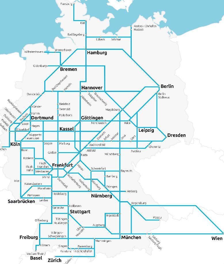 Flixbus für nur 14,90€ quer durch Deutschland