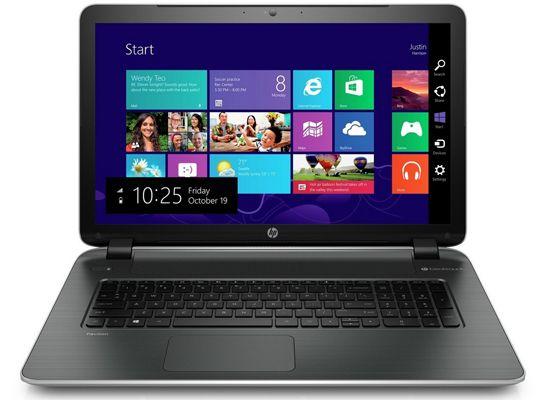 HP 17 f036ng HP 17 f036ng   17 Zoll Full HD Notebook (2GHz, 4GB, 750GB, Windows 8.1) für 399€