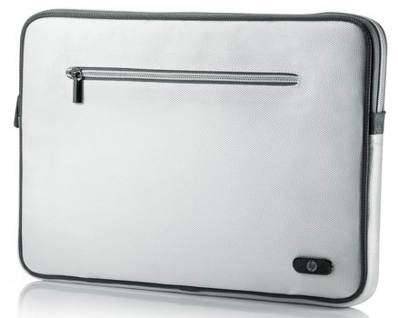 HP 15,6 Zoll Notebook Tasche in Weiß für 12€