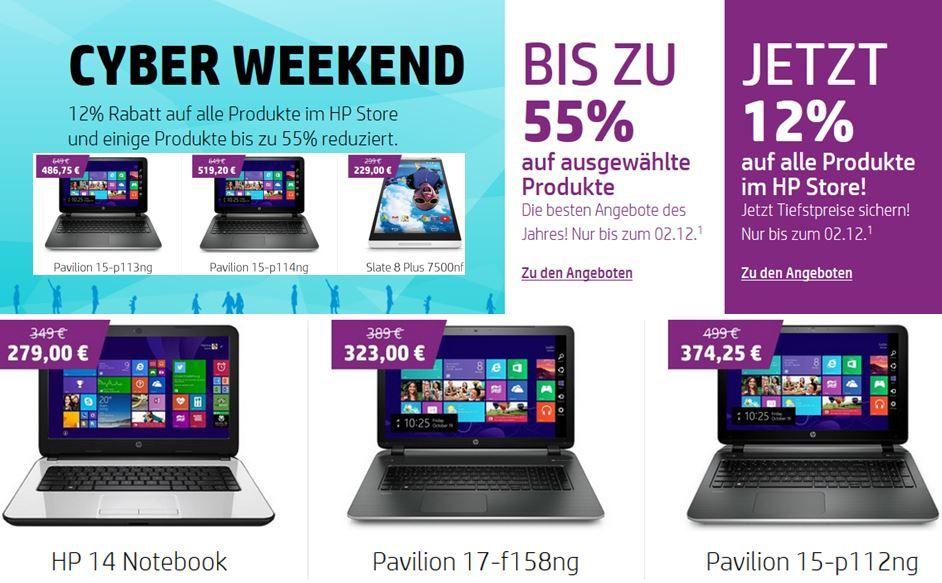 Pavilion 17 f158ng   17 Notebook für 323€ dank HP 12% Rabattaktion auf alles + mehr Rabatte!