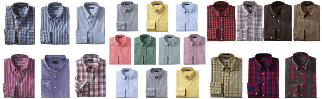 Herren hemden LANDS´ END   Herren Hemden im Sale für je 12,95€ inkl. Versand!