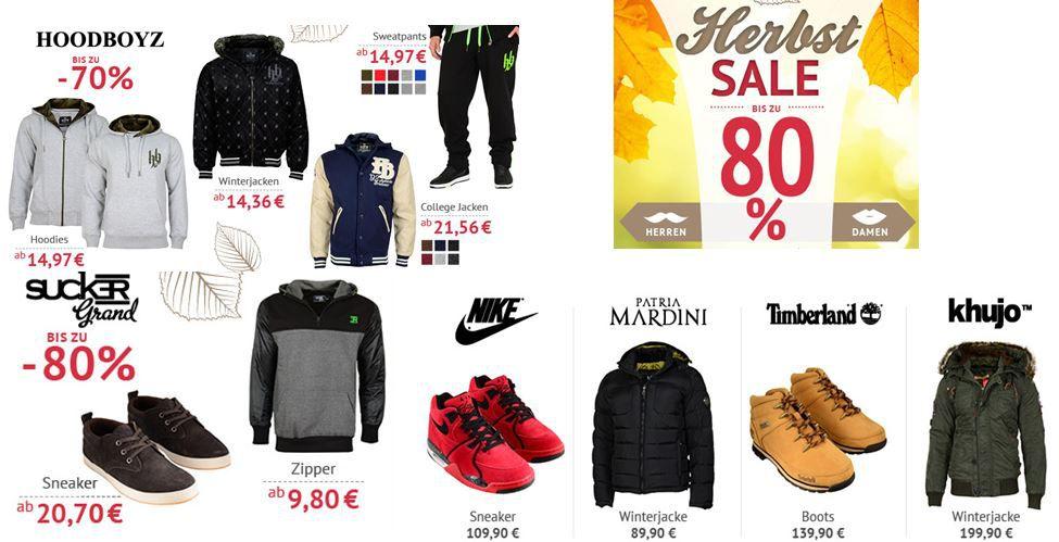MCL T Shirts ab 2,23€   neuer Herbst Sale mit bis zu 80% Rabatt bei den Hoodboyz   Update