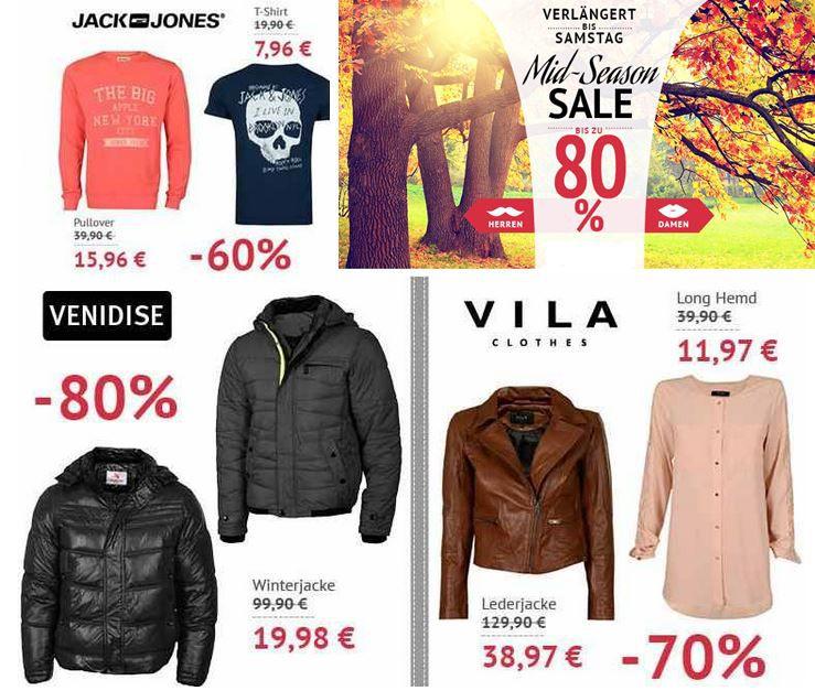 Hoodsale Jack&Jones T Shirts ab 7,96€ beim Hoodboyz MidSeason Sale mit max. 80% Rabatt    Update