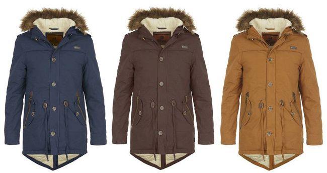 Indicode Polar Herren Parka in 3 Farben für je 79,95€