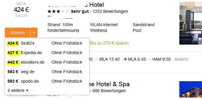 Kayak 100€ Reise Gutschein aidu für 9,90€   Update!