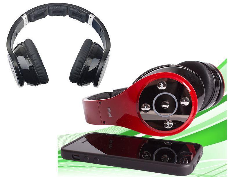 Kopfhörer SEG One AP131   Bluetooth Over Ear Kopfhörer mit microSD Slot für 29,90€