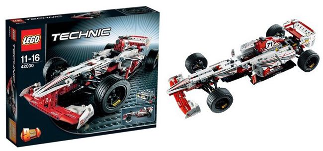 LEGO Technic Grand Prix Racer LEGO Technic Grand Prix Racer 42000 für 53,99€ (statt 79€)
