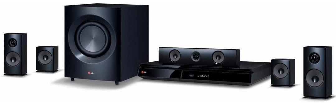 LG BH 7230BWB    5.1 Heimkinosystem mit 3D WLan Blu Ray Player für 244,89€