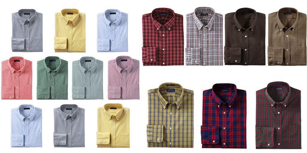 LANDS´ END   Herren Hemden im Sale für je 12,95€   Update°