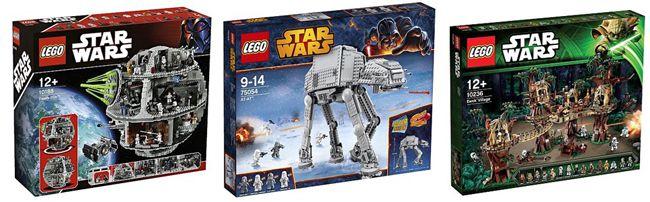 Lego Star Wars Angebote 20% Rabatt auf Lego Star Wars Artikel bei ToysRUs   z.B. Todesstern ab 336€
